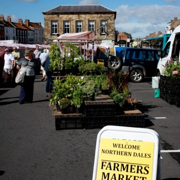 Stokesley's Farmers market, Stokeley, Stokesley Food week