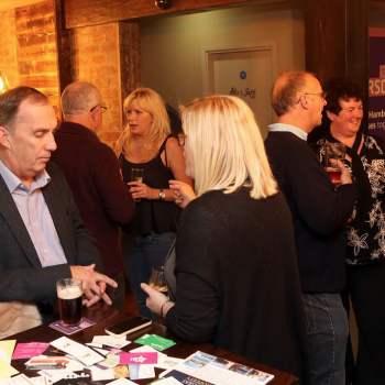 Stokesley Thirsty Thursday October 2015, Gordan Lindsay, Sue Thompson