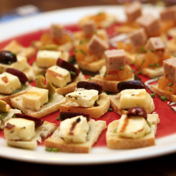 canapes, Stokesley Thirsty Thursday October 2015, The Mill