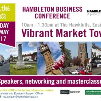 Business Conference, Hambleton District Council, Stokesley, Thirsty Thursday
