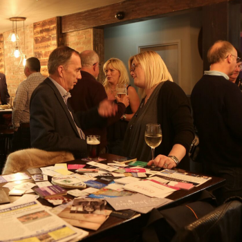 Stokesley Thirsty Thursday October 2015, The Mill, networking